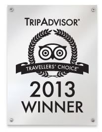 Pension Ria gewinnt den Tripadvisor Travellers Choice Award 2013