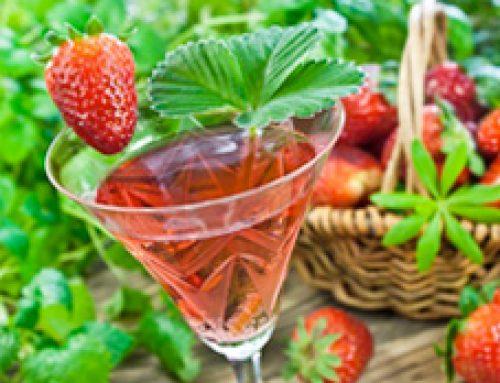 Rezept: Ria's Erdbeer-Bowle