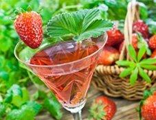 Ria's Erdbeerbowle