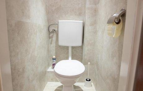 Pension-Ria Einzel Doppelkabinett WC